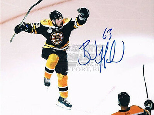 Brad Marchand Boston Bruins Stanley Cup signed 8x10 X