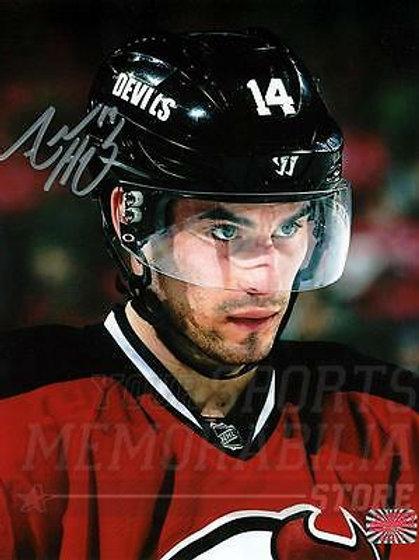 Adam Henrique New Jersey Devils Signed Autographed Up Close 8x10