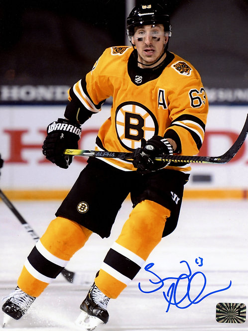 Brad Marchand Boston Bruins Signed Autographed Lake Tahoe Skate 16x20 A