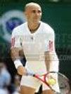Andre Agassi serve  8x10 11x14 16x20 photo 620
