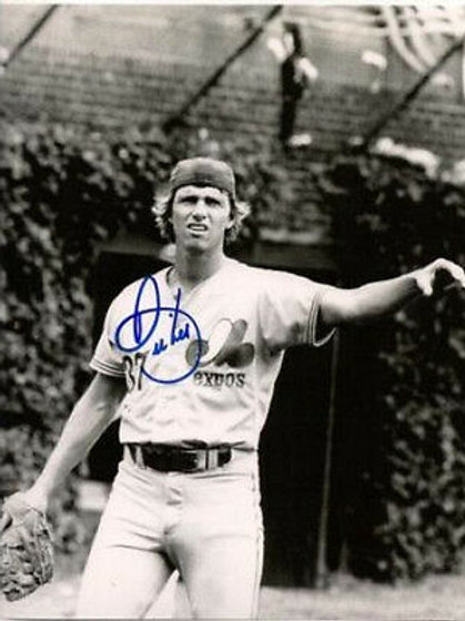 Bill Lee Montreal Expos signed 8x10 Red Sox legend