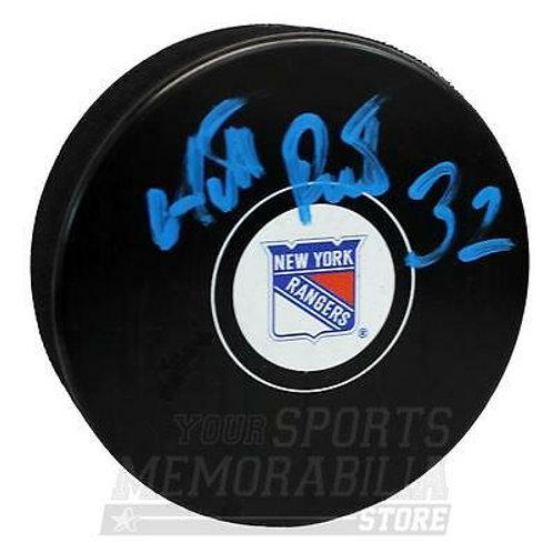 Antti Raanta New York Rangers Signed Autographed Rangers Hockey Puck B
