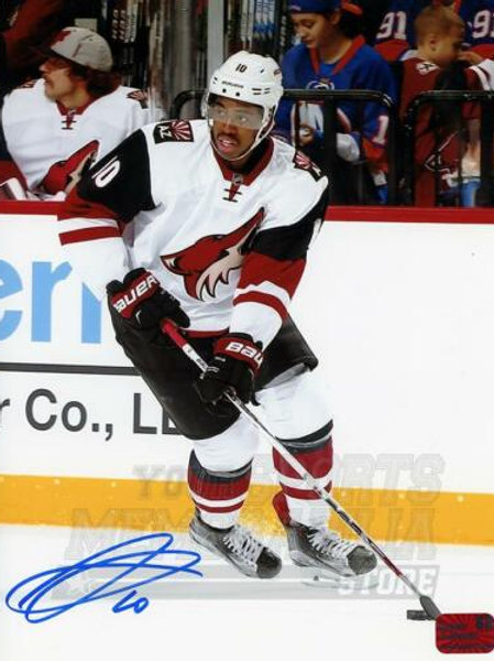 Anthony Duclair Arizona Coyotes Signed Autographed Away Action 8x10