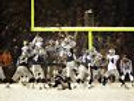 Adam Vinatieri Patriots snow bowl winning field goal 8x10 11x14 16x20 photo 181