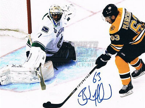 Brad Marchand Boston Bruins Stanley Cup signed 8x10 O