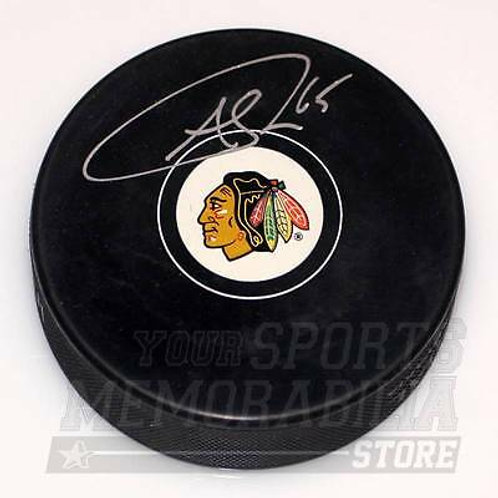 Andrew Shaw Chicago Blackhawks Signed Autographed Blackhawks Hockey Puck
