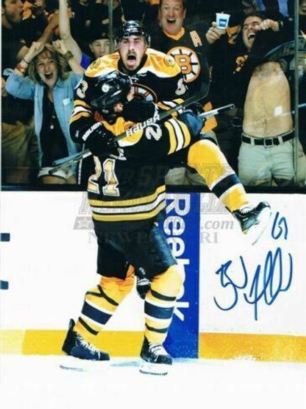Brad Marchand Boston Bruins Signed Wild Stanley Cup Celebration w/ Ference 8x10