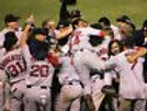 2004 World Series Red Sox final out celebration pile  8x10 11x14 16x20 photo 071