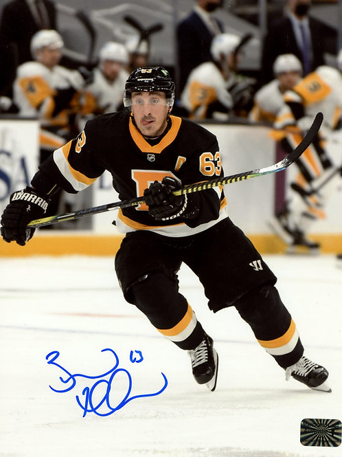 Brad Marchand Boston Bruins Signed Autographed Alternate Home Jersey 16x20