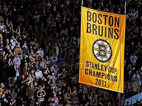 Boston Bruins 2011 Stanley Cup banner night celebration  8x10 11x14 16x20 1804