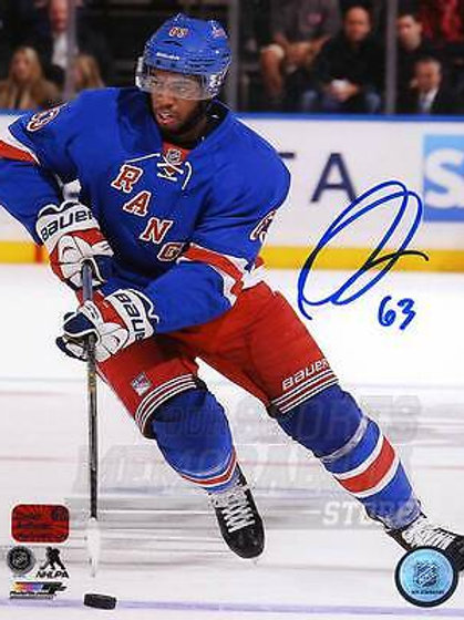 Anthony Duclair New York Rangers Signed Autographed Home Action 8x10 PF
