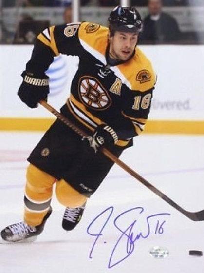 Marco Sturm Boston Bruins Signed 8x10 Photo w Puck