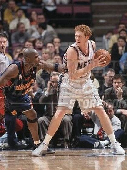 Brian Scalabrine New Jersey Nets white mamba   8x10 11x14 16x20 2086