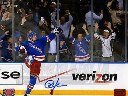 Chris Kreider New York Rangers Signed Autographed Home Celebration 8x10