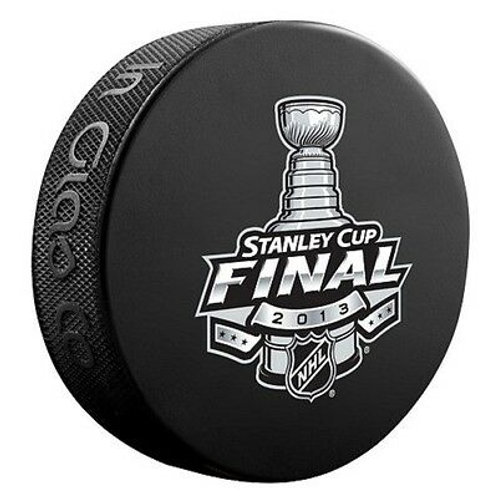 2013 Stanley Cup Final Souvenir Hockey Puck Boston Bruins Chicago Blackhawks