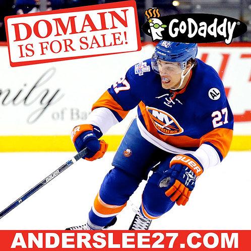 ANDERS LEE 27 .COM - New York Islanders - Hockey - NHL - Domain Name - GoDaddy