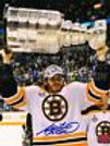 Adam McQuaid Boston Bruins Signed Autographed Stanley Cup Raising Cup 16x20 B