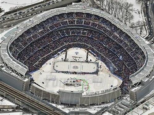 2014 Stadium Series Yankee Stadium New York Rangers 8x10 11x14 16x20 4134