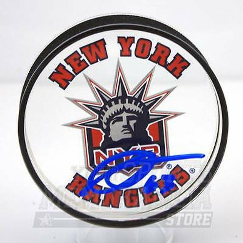 Anthony Duclair New York Rangers Signed Autographed Rangers Liberty Acrylic Puck