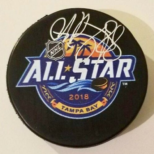 Andrei Vasilevskiy Tampa Bay lightning Signed 2018 NHL All Star Puck