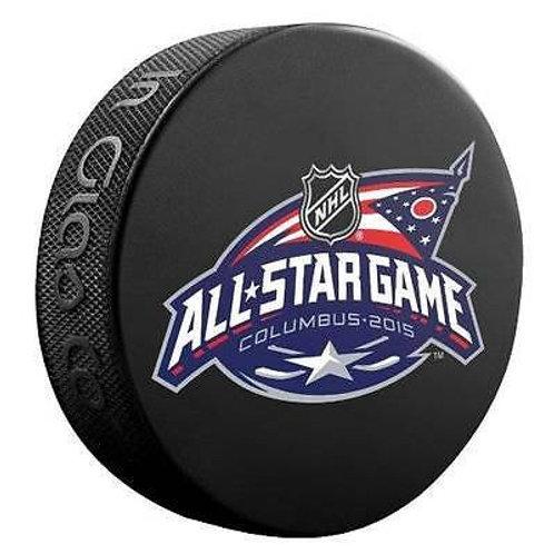 2015 NHL All-Star Game Columbus Souvenir Hockey Puck