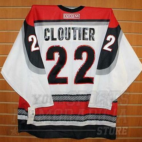 Cloutier Portland Pirates #22 AHL CCM Official Replica Hockey Jersey XL