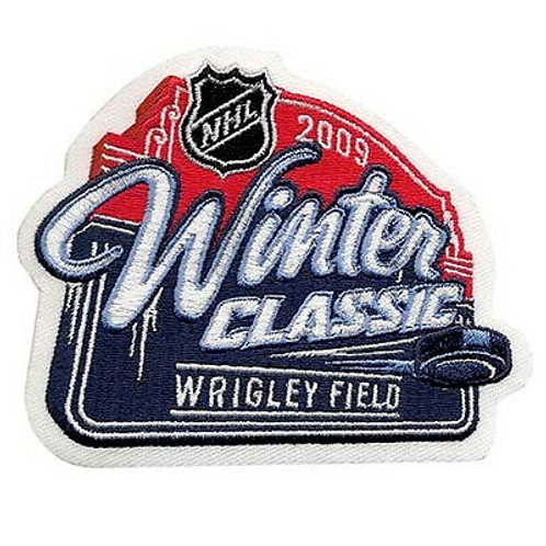 2009 Winter Classic Wrigley Field Chicago Black Hawks Detroit Red Wings patch