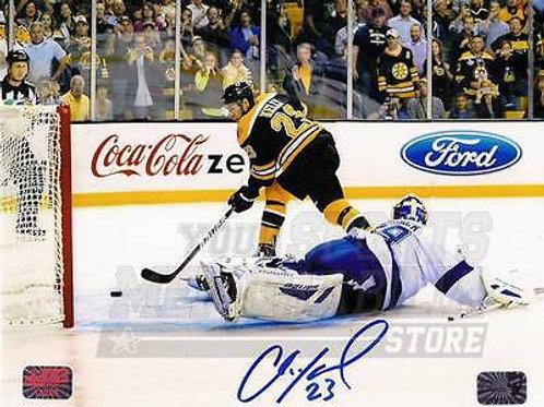 Chris Kelly Boston Bruins Signed Autographed Penalty Shot Goal vs Lightning 8x10