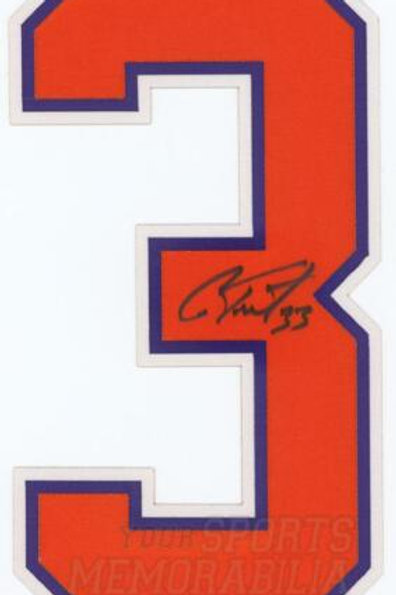 Cam Talbot Edmonton Oilers Signed Autographed Home Jersey Number