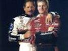 Dale Earnhardt Dale Earnhardt Jr hug  8x10 11x14 16x20 photo 274