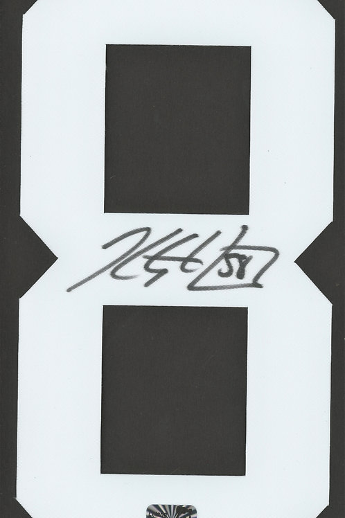 Kris Letang Pittsburgh Penguins Signed Autographed White #8 Jersey Number