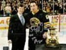 Brad Marchand Boston Bruins Signed 2011 7th Player Award 8x10 - Limited Edition