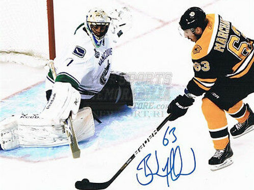 Brad Marchand Boston Bruins Stanley Cup signed 16x20 O