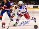 Brad Richards New York Rangers Signed Autographed Away Action 8x10