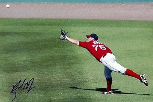 Brandon Moss Boston Red Sox / Oakland A' Athletics Signed 8x10