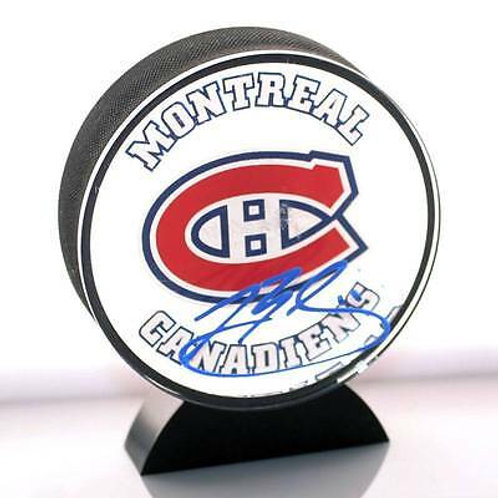 Brendan Gallagher Montreal Canadiens Signed Autographed Acrylic Hockey Puck A