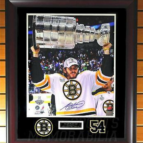 Adam McQuaid Boston Bruins Signed Autographed 2011 Stanley Cup 16x20 Framed