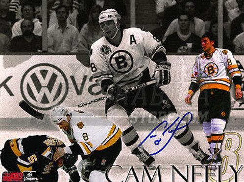 Cam Neely Boston Bruins Autographed 8x10 Photo Montage