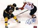 Benoit Pouliot Boston Bruins Signed Between the Legs Goal 16x20