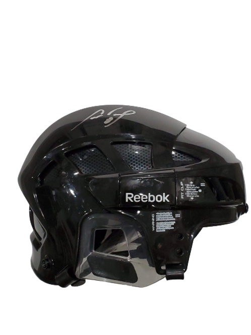 Cam Neely signed autographed BLACK, FULL SIZE Reebok helmet
