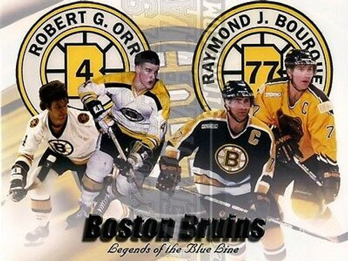 Bobby Orr Ray Bourque Boston Bruins Montage  8x10 11x14 16x20  1398