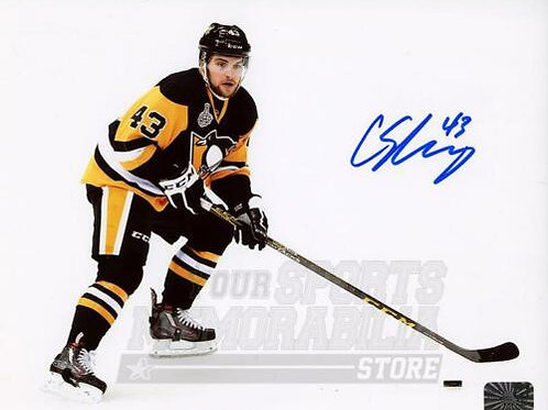 Conor Sheary Pittsburgh Penguins Signed Autographed Stanley Cup Finals 16x20