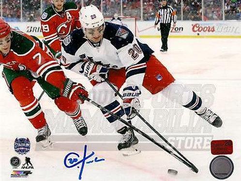 Chris Kreider New York Rangers Signed Autographed 2014 Stadium Series 8x10