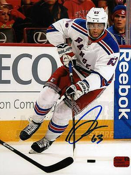 Anthony Duclair New York Rangers Signed Autographed Away Action 8x10
