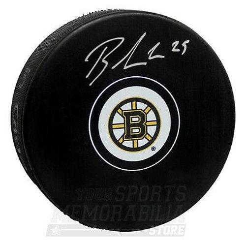 Brandon Carlo Boston Bruins Signed Autographed Bruins Hockey Puck