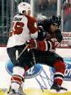 Arron Asham Philadelphia Flyers Signed Autographed Check 8x10