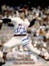 Bill Lee Boston Red Sox signed Hall of Fame 8x10