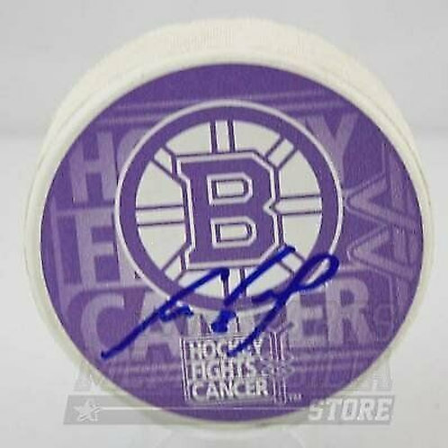 Cam Neely Boston Bruins Signed Autographed Hockey Fights Cancer Hockey Puck