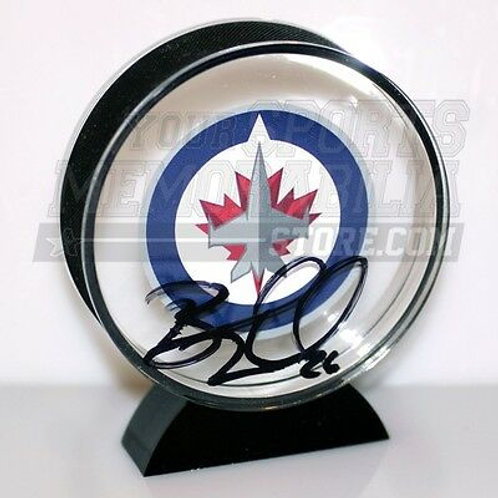 Blake Wheeler Winnipeg Jets Signed Autographed Winnipeg Acrylic Hockey Puck