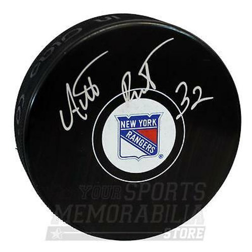 Antti Raanta New York Rangers Signed Autographed Rangers Hockey Puck